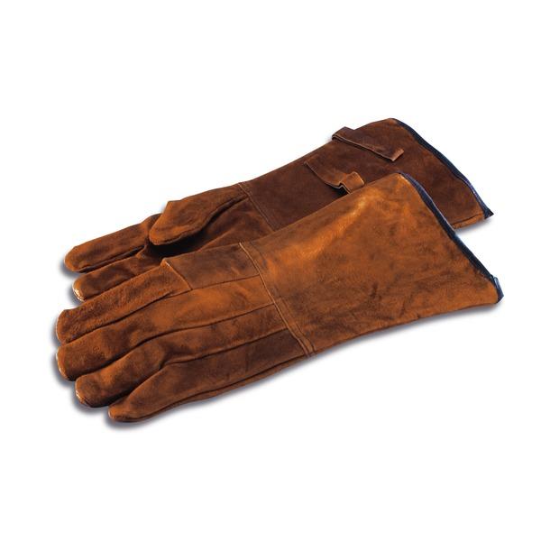 Schutzhandschuhe aus Leder