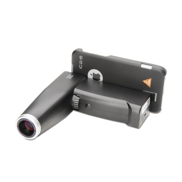 HEINE® iC 2 Funduskop - Digitales Ophthalmoskop mit Adapterschale