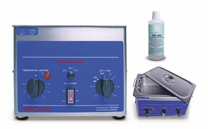 Ultraschall-Reinigungsgerät mit Heizung