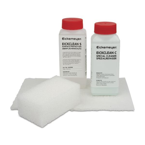 EickClean Edelstahlpflege-Set für Edelstahl-Tische
