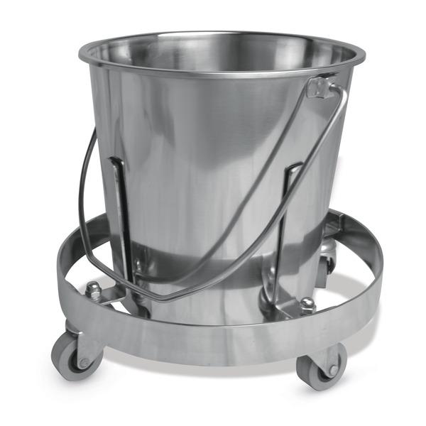 """""""Kick-Bucket"""" Abwurfeimer mit Fahrgestell"""